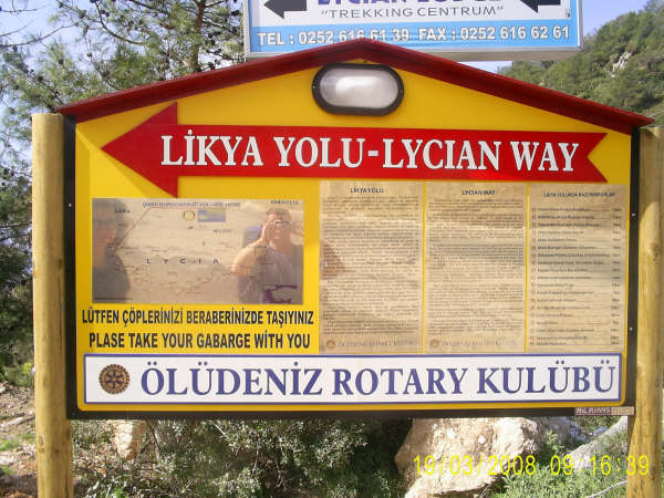 Follow The Lycian Way