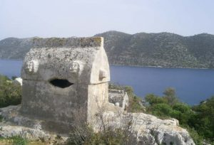 lycian way holidays lycian rock tomb