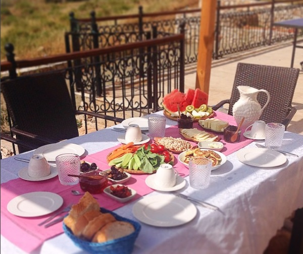 breakfast on the lycian way