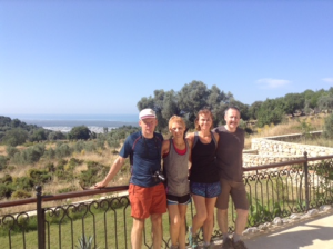 Lycian Way group holidays Guests 1