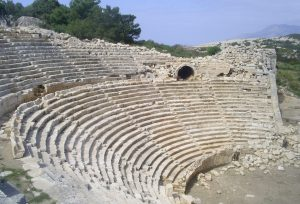Lycian way holidays amphitheatre