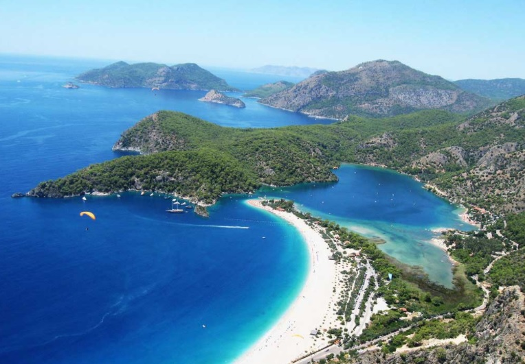 Lycian Way holidays view of oludeniz