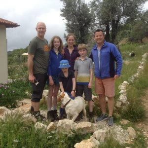 guests hiking on the Lycian Way