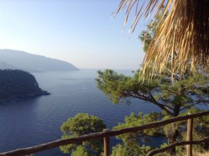 Lycian Way view from Kabak