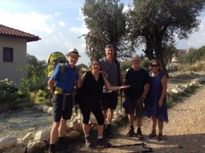 Lycian way holidays guests12