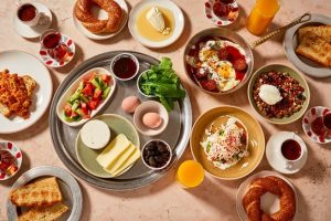 Lycian Way Group Turkish breakfast