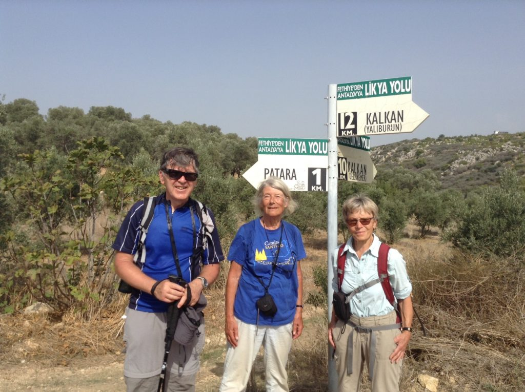 Lycian Way Holidays group walker