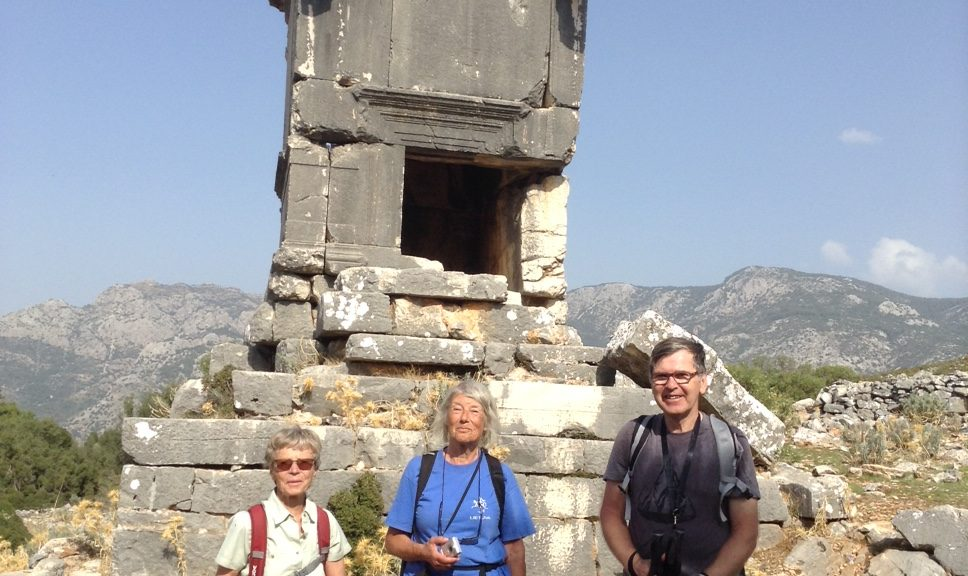 Lycian Way holidays Sidyma Ruins