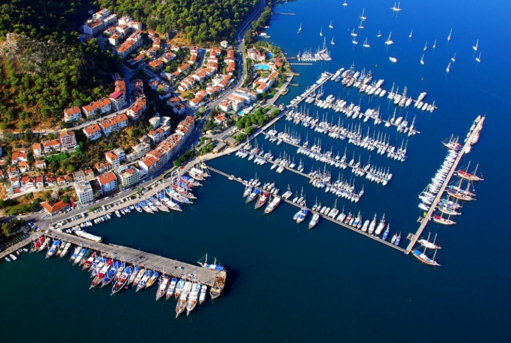 Fethiye view from above