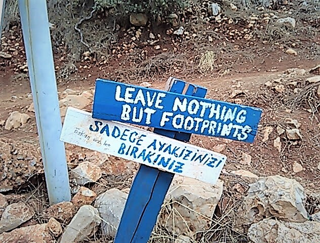Good sign lycian way