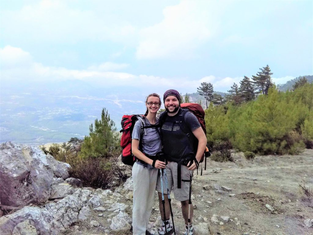 Hikers on The Lycian Way Musa Dag