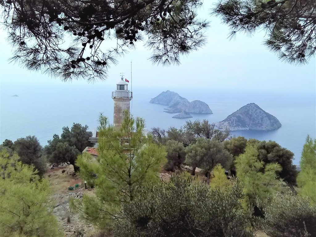 Lycian Way Lighthouse view