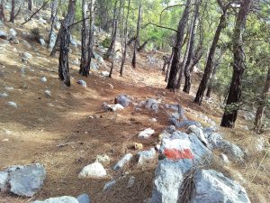 Lycian Way whole route