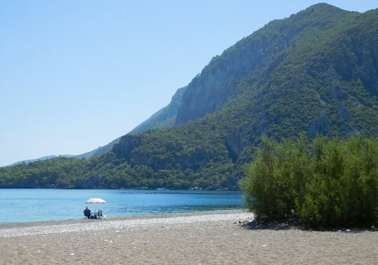 Lycian Way Cirali Beach