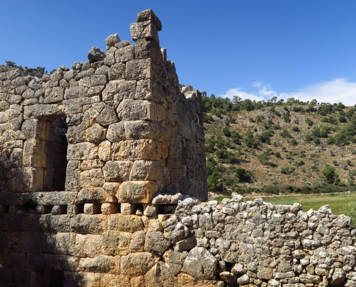 Lycian Way Holidays Pydnai Ruins
