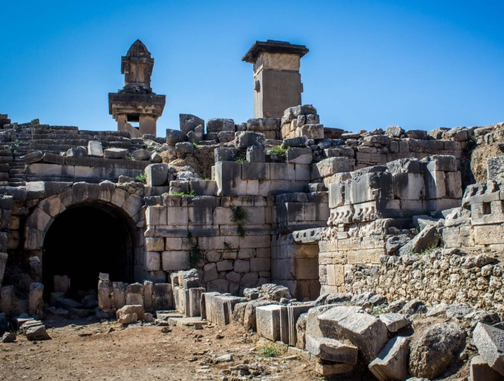 Lycian Way Holidays Xanthos ruins