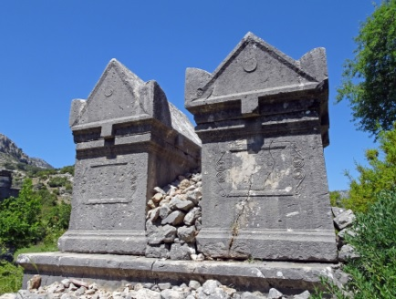 Lycian Way Holidays Lycian Tombs Sidyma