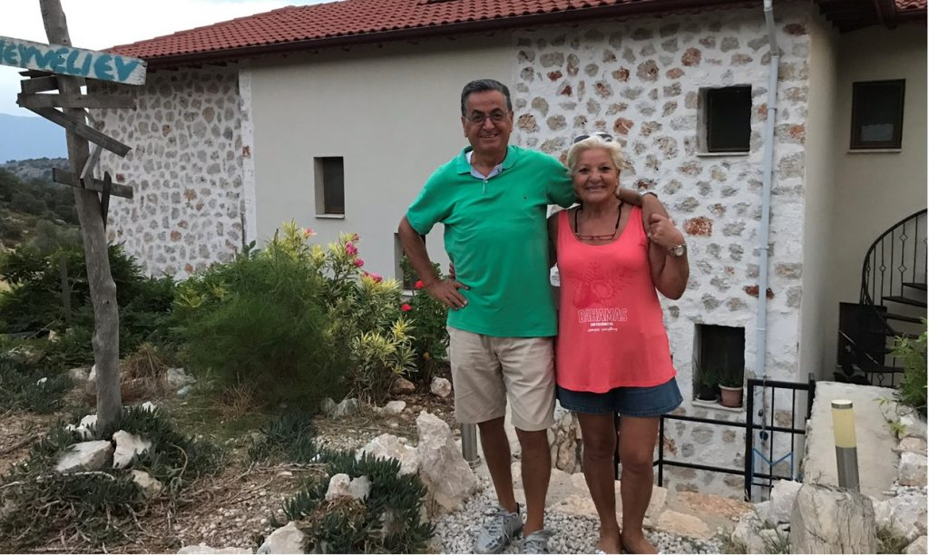 Top chefs Meyvelie Ev Lycian Way
