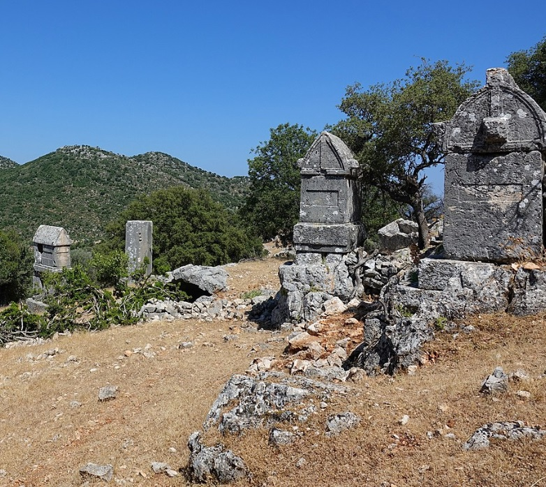 Apollonia Lycian Tombs Lycian Way