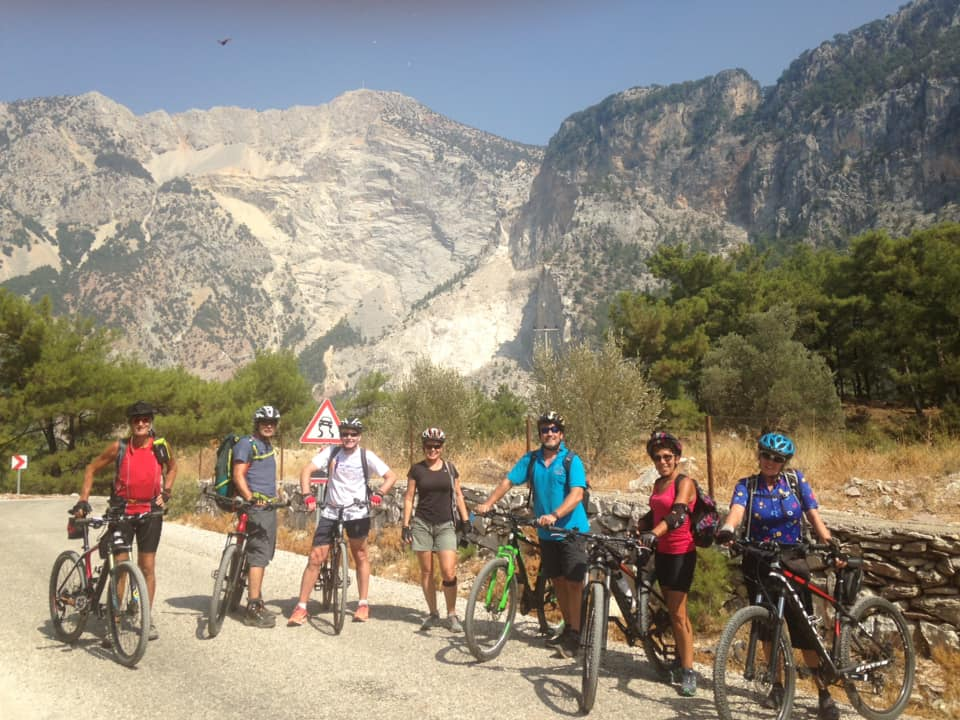 Hiking & Biking on the Lycian Way Bike Group