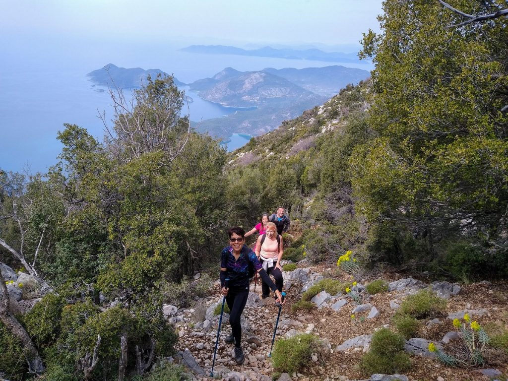 Lycian Way going up